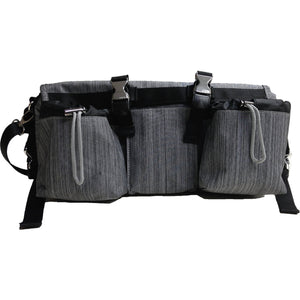 3-in-1 BuggyButler Stroller Organizer & Cooler: Limited Edition - Snow Oxford
