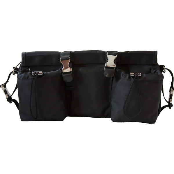 3-in-1 BuggyButler Stroller Organizer & Cooler: Sport Collection - Jet Black
