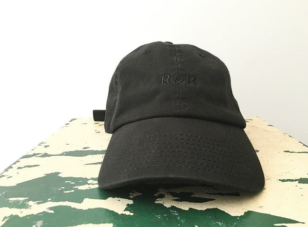 Unstructured Logo Hat (black)