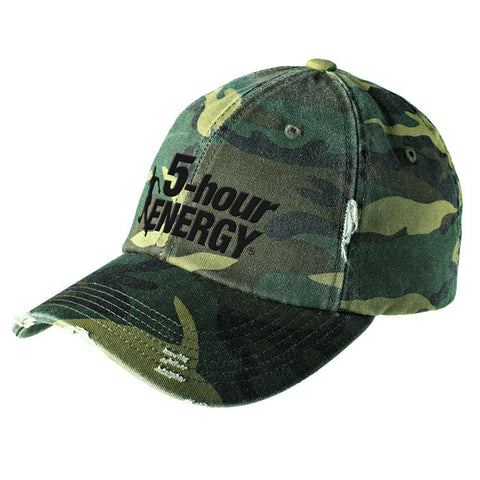 Hat - District® Distressed Camo