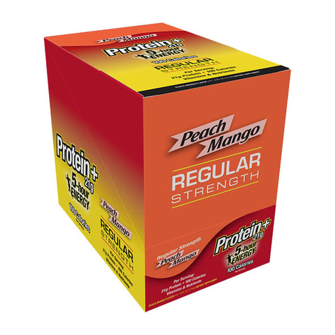 5-hour ENERGY® REGULAR STRENGTH PEACH MANGO PROTEIN