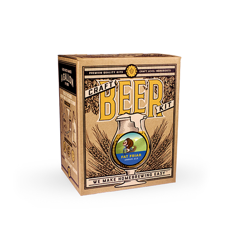 Craft a Brew - Fat Friar Amber Ale Brewing Kit