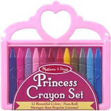 princess crayons melissa and doug