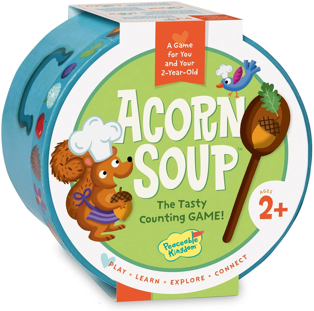 Acorn soup game age 2 and up
