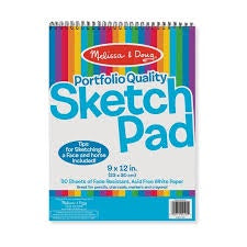 sketch pad melissa and doug