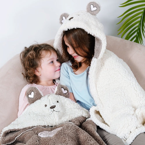bear hugs blanket