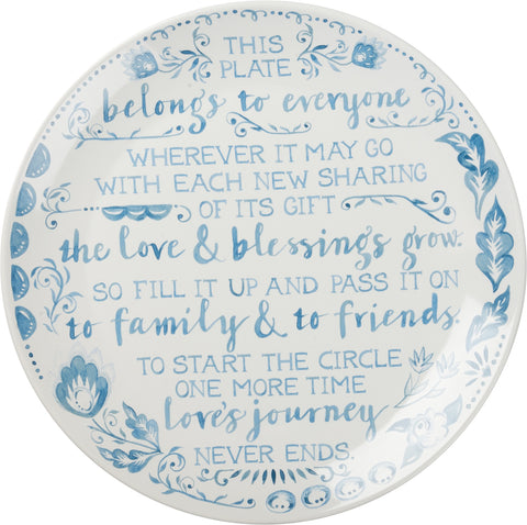 Blessing Plate