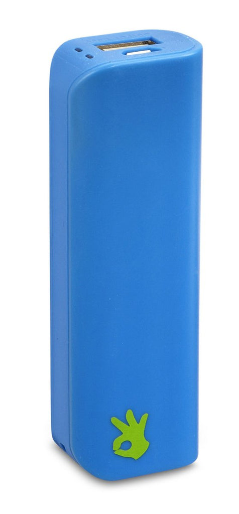 Portable power stick blue