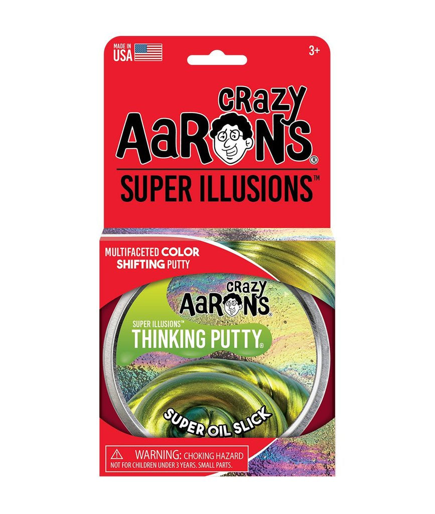 Aarons Thinking putty oil slick