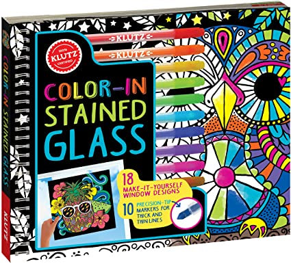 color in stianed glass