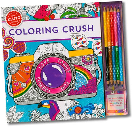 Coloring Crush Activity Book