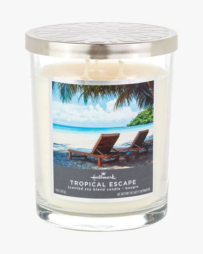 Made in NH CANDLE TROPICAL ESCAPE