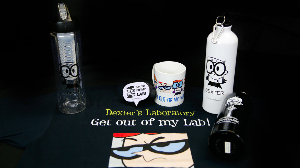 labratgifts.com's collection of Dexter themed gifts
