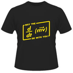 may the force be with you star wars t-shirt from lab rat gifts