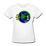 """We Only Get 1 Earth"" - Women's T-Shirt - white"