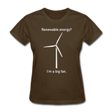 """I'm a Big Fan"" - Women's T-Shirt brown / S - LabRatGifts - 6"