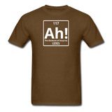 """Ah! The Element of Surprise"" - Men's T-Shirt brown / S - LabRatGifts - 5"