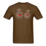 """I've Lost an Electron"" - Men's T-Shirt brown / S - LabRatGifts - 5"