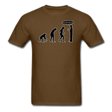 """Stop Following Me"" - Men's T-Shirt brown / S - LabRatGifts - 5"