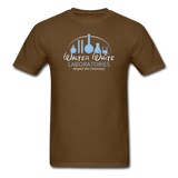 """Walter White Laboratories"" - Men's T-Shirt brown / S - LabRatGifts - 7"