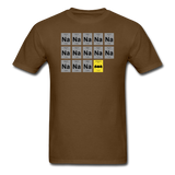 """Na Na Na Batmanium"" - Men's T-Shirt brown / S - LabRatGifts - 6"
