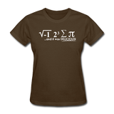 """I Ate Some Pie"" (white) - Women's T-Shirt brown / S - LabRatGifts - 5"