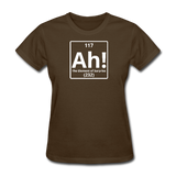 """Ah! The Element of Surprise"" - Women's T-Shirt brown / S - LabRatGifts - 3"