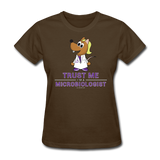 Women's T-Shirt brown / S - LabRatGifts - 13