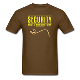 """Security Ebola Laboratory"" - Men's T-Shirt brown / S - LabRatGifts - 4"