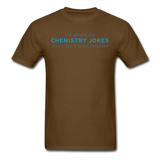 """Chemistry Jokes"" - Men's T-Shirt brown / S - LabRatGifts - 4"