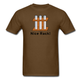 """Nice Rack"" - Men's T-Shirt brown / S - LabRatGifts - 4"