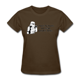 """I had Friends on that Death Star"" - Women's T-Shirt brown / S - LabRatGifts - 5"