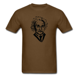 """Albert Einstein"" - Men's T-Shirt brown / S - LabRatGifts - 4"