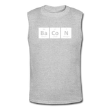 """BaCoN"" - Men's Muscle T-Shirt gray / S - LabRatGifts - 4"