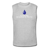 """If You Like Water"" - Men's Muscle T-Shirt gray / S - LabRatGifts - 2"