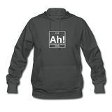 """Ah! The Element of Surprise"" - Women's Sweatshirt asphalt / S - LabRatGifts - 1"