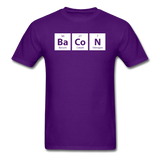 """BaCoN"" - Men's T-Shirt purple / S - LabRatGifts - 2"