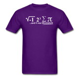 """I Ate Some Pie"" (white) - Men's T-Shirt purple / S - LabRatGifts - 6"