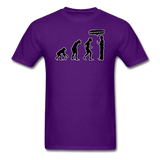 """Stop Following Me"" - Men's T-Shirt purple / S - LabRatGifts - 4"