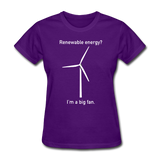 """I'm a Big Fan"" - Women's T-Shirt purple / S - LabRatGifts - 5"