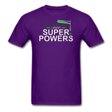 """Forget Lab Safety"" - Men's T-Shirt purple / S - LabRatGifts - 3"