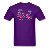 """I've Lost an Electron"" - Men's T-Shirt purple / S - LabRatGifts - 4"