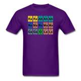 """Lady Gaga Periodic Table"" - Men's T-Shirt purple / S - LabRatGifts - 5"