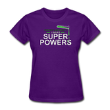 """Forget Lab Safety"" - Women's T-Shirt purple / S - LabRatGifts - 3"