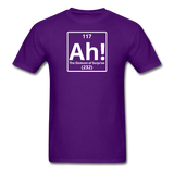 """Ah! The Element of Surprise"" - Men's T-Shirt purple / S - LabRatGifts - 4"