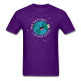 """Save the Planet"" - Men's T-Shirt purple / S - LabRatGifts - 5"