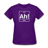 """Ah! The Element of Surprise"" - Women's T-Shirt purple / S - LabRatGifts - 4"