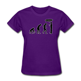 """Stop Following Me"" - Women's T-Shirt purple / S - LabRatGifts - 5"