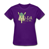 """Yo-Da One for Me"" - Women's T-Shirt purple / S - LabRatGifts - 3"