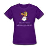 Women's T-Shirt purple / S - LabRatGifts - 14